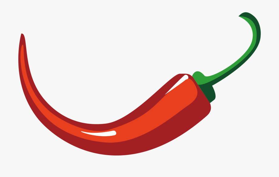 Capsicum Annuum Chili Pepper Euclidean Vector.