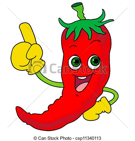 Chilies clipart #15