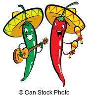 Chilies clipart #18
