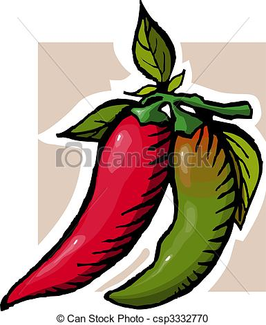 Chillies Illustrations and Clipart. 145 Chillies royalty free.