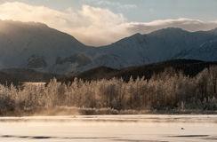 Beauty Of Chilkat Mountains, Haines, Alaska Stock Photo.