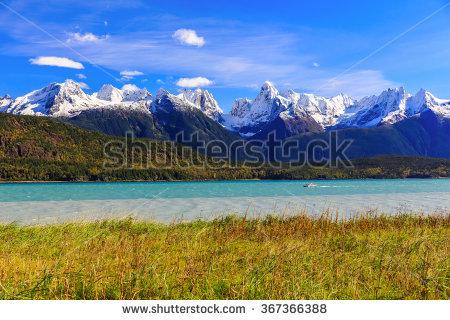 Alaska Mountains Stock Photos, Royalty.