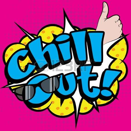Chill out clipart #10
