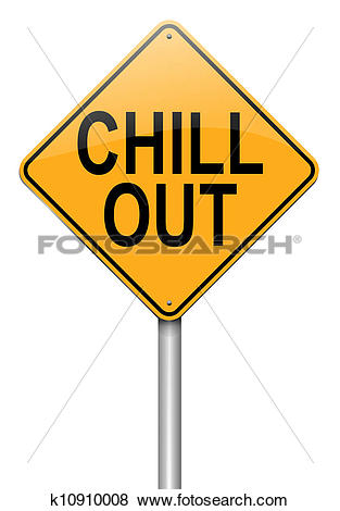 Stock Illustration of Chill out concept. k10910008.