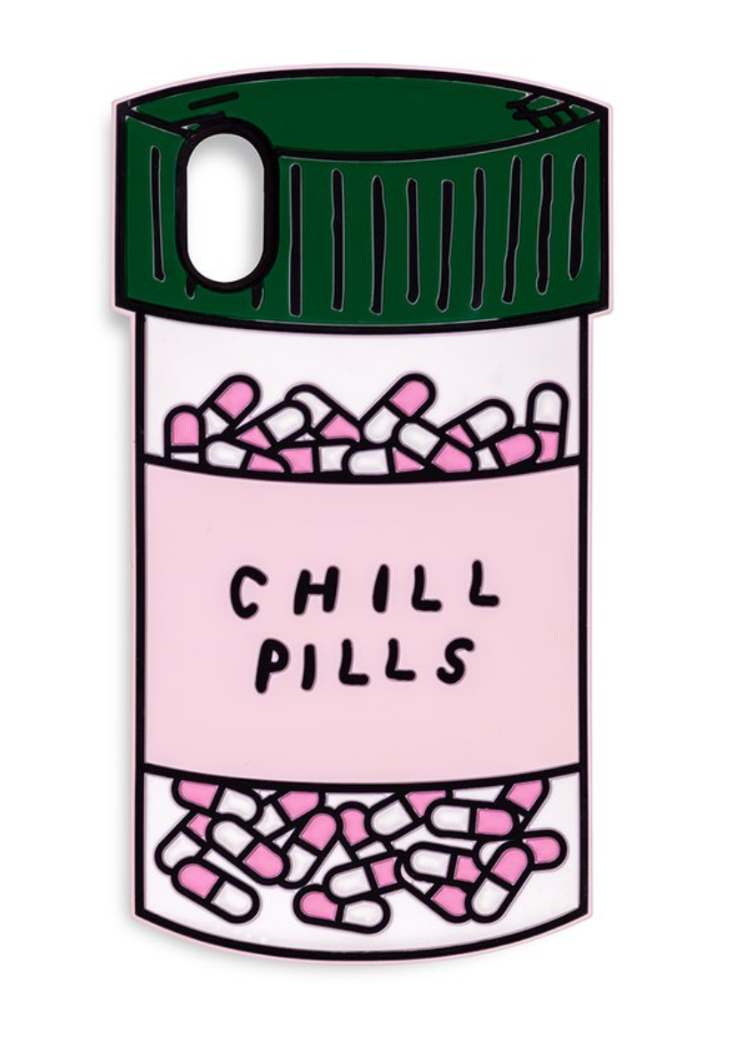 Ban.do Chill Pill iPhone case.