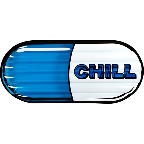 Chill Pill Pool Float.
