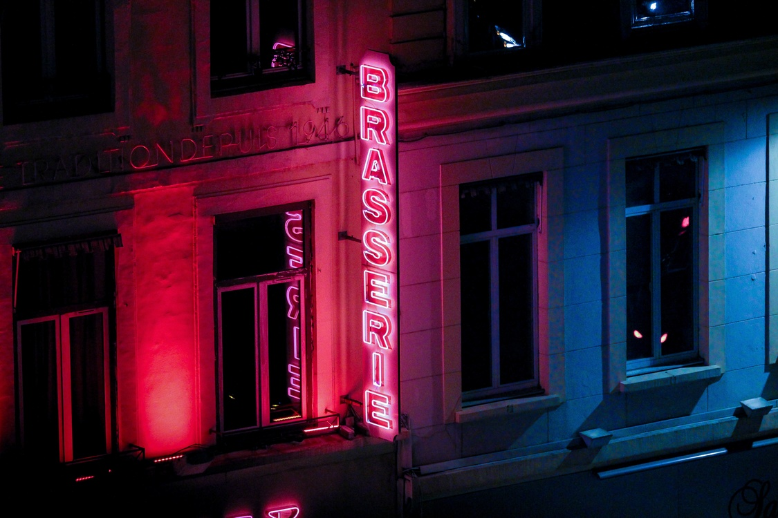 Darkness,Light,Neon Sign Background.