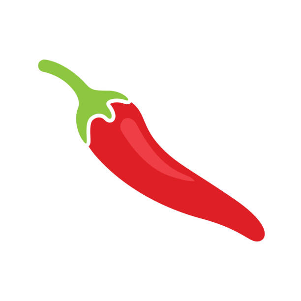 Best Red Chili Pepper Illustrations, Royalty.