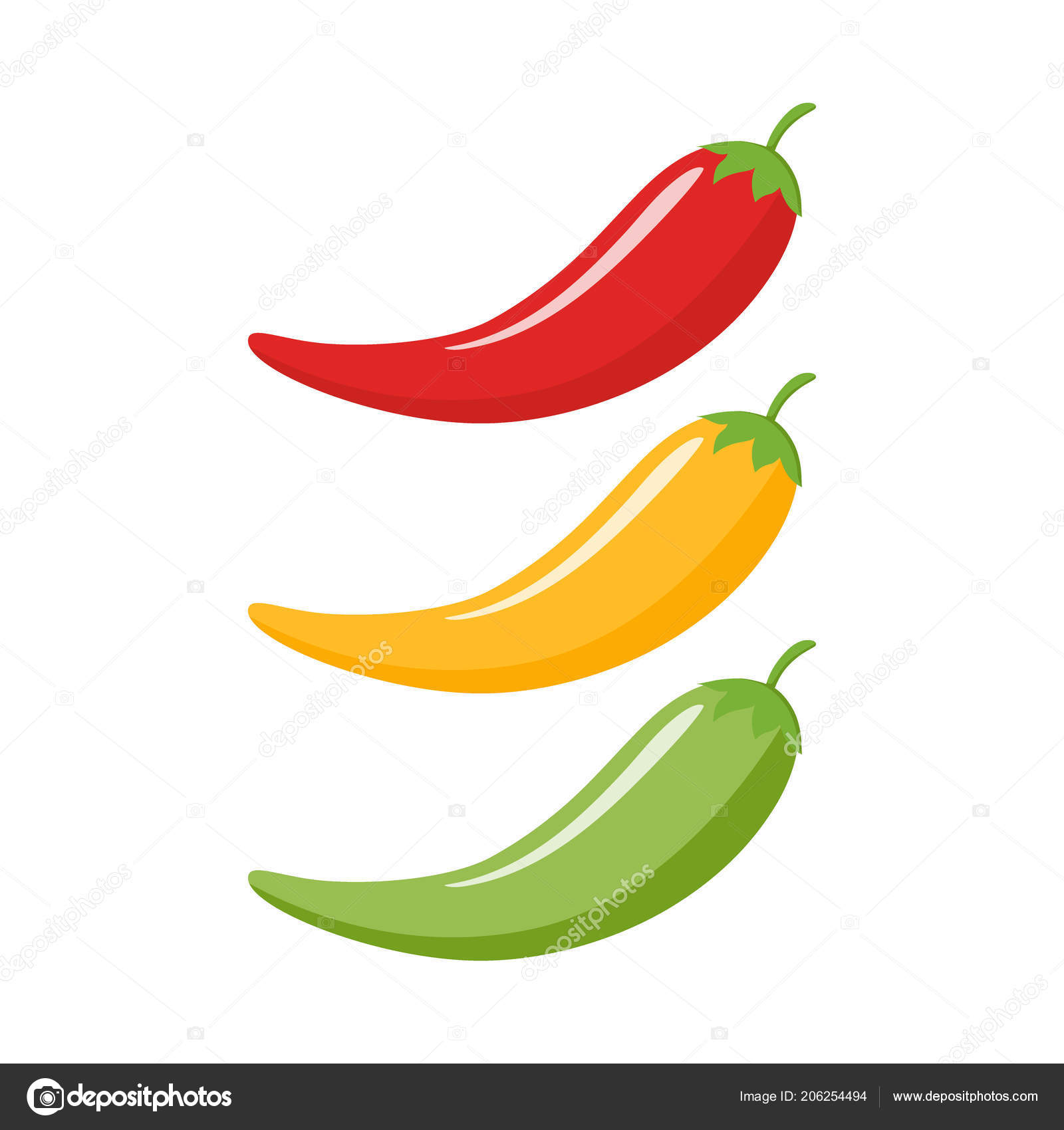 Clipart: chili peppers.