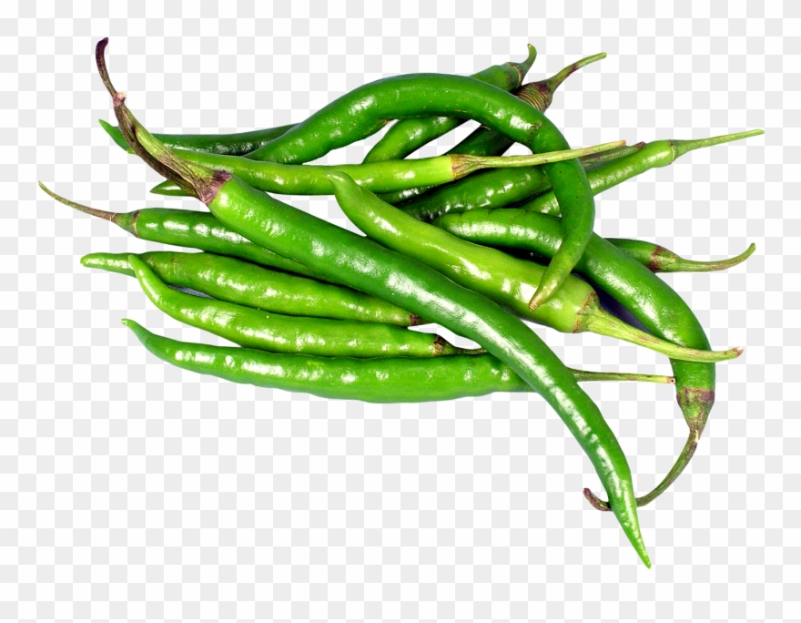 Transparent Green Chilli Png Clipart (#1449438).