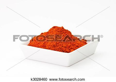 Stock Photography of chili powder k3028460.