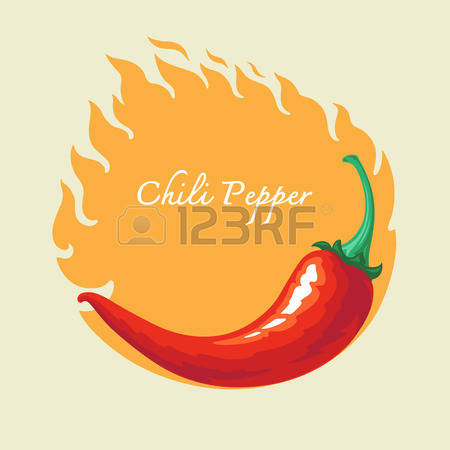 3,546 Red Chilli Stock Vector Illustration And Royalty Free Red.