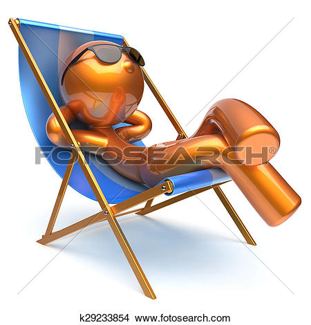 Chilling clipart #8