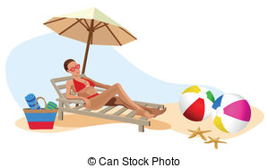 Chilling clipart #15
