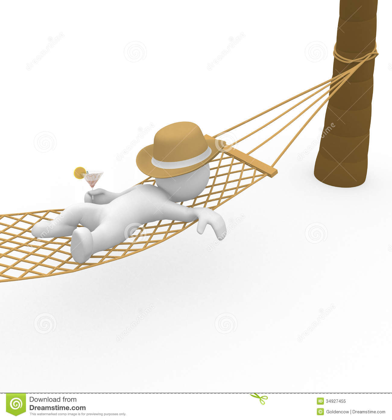 Chilling clipart #14
