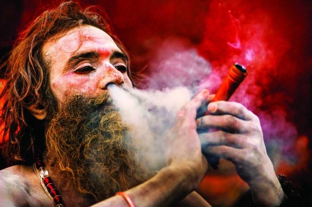 What is chillum? why sadhu smoke this?.