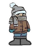 Fall Clothing Drive Clip Art.