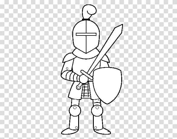 Middle Ages Knight Drawing Chivalry Castle, Knight.
