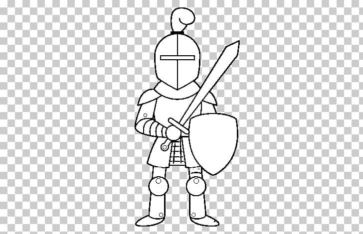 Middle Ages Knight Drawing Chivalry Castle, Knight PNG.
