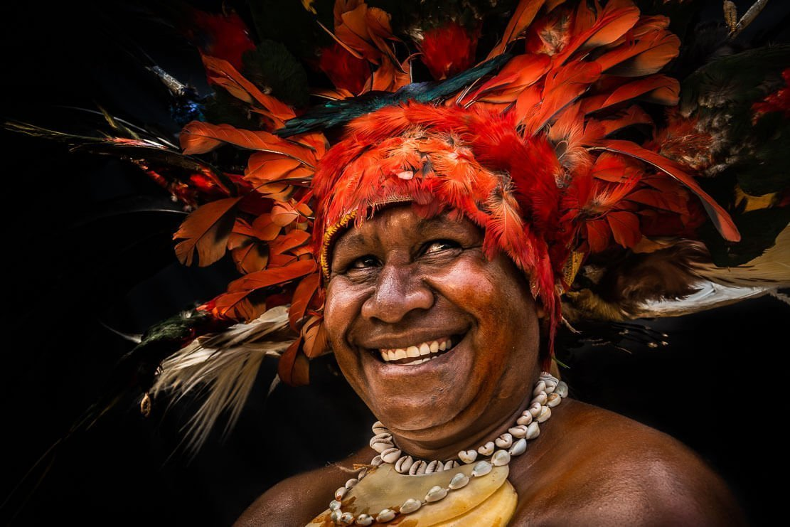 Papua New Guinea tribes from Chimbu Province ∞ ANYWAYINAWAY.