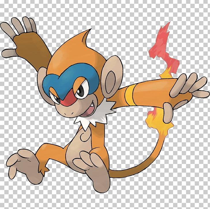 Pokémon Platinum Chimchar Infernape Pokédex PNG, Clipart, Animal.