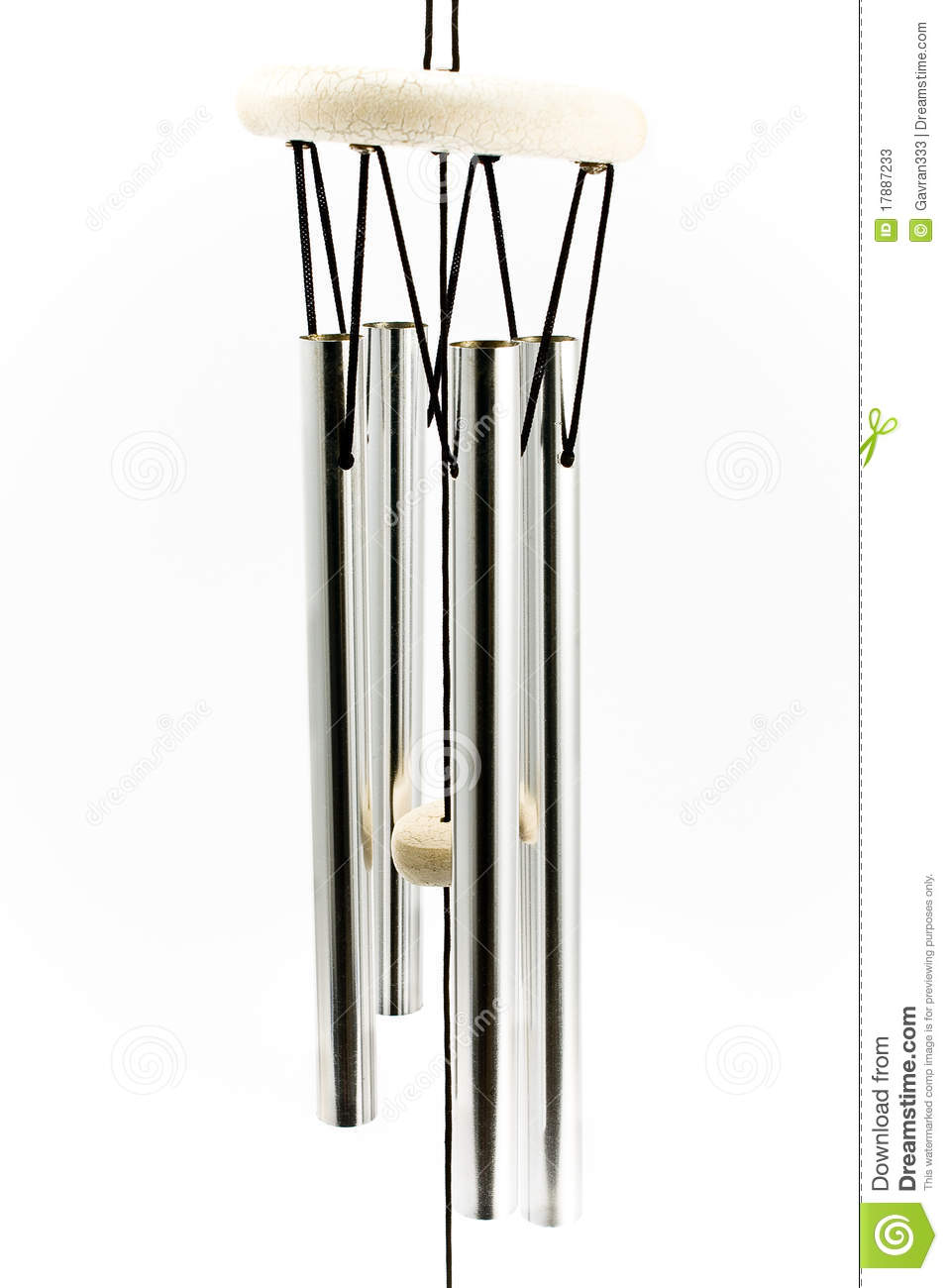 Wind Chimes Stock Photos.