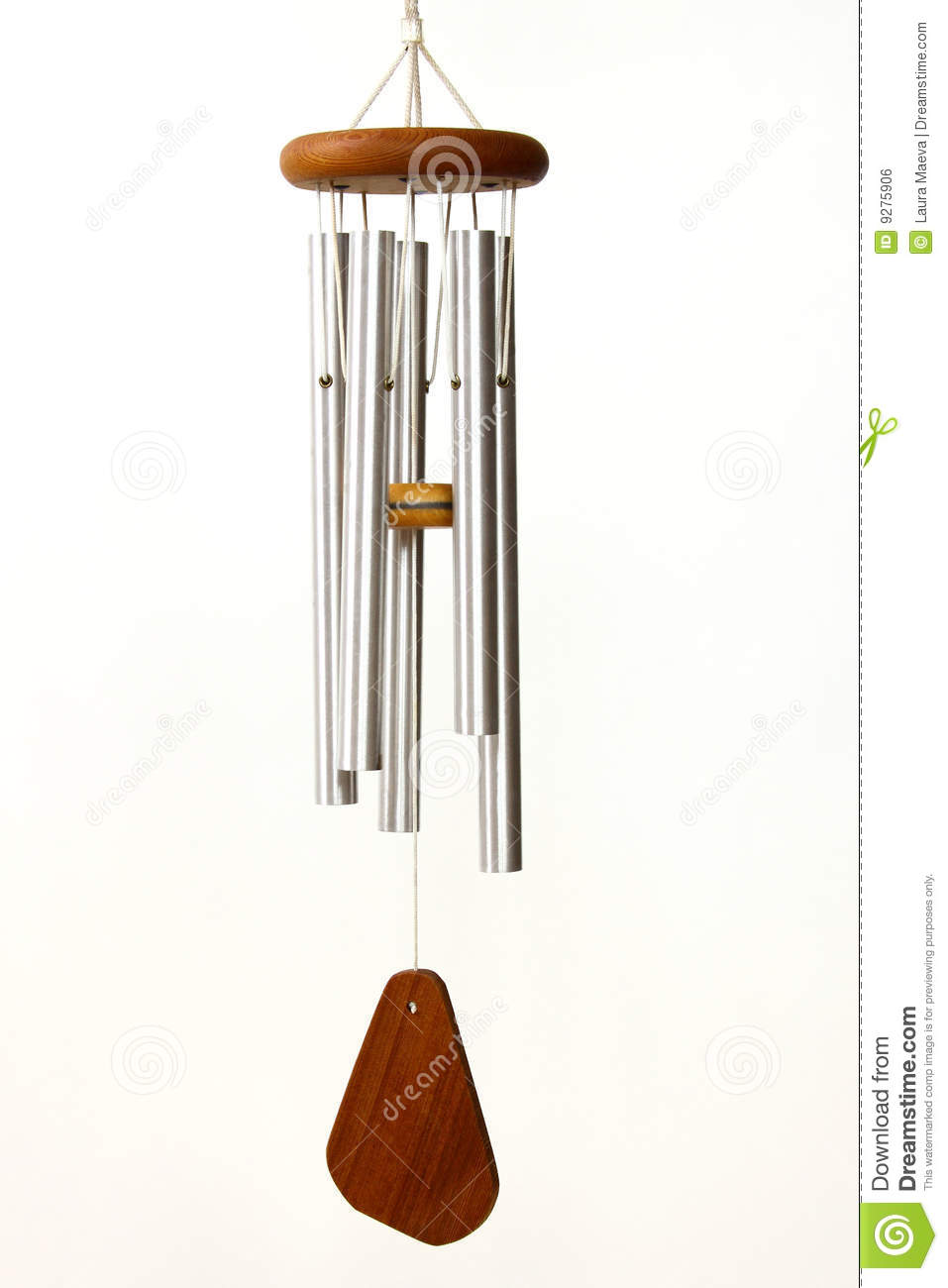 Wind chime clipart.