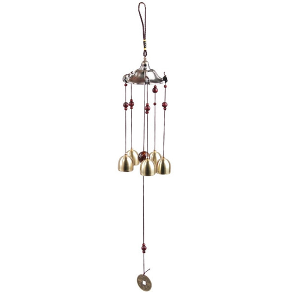 Aliexpress.com : Buy 5 Bells Antique Copper Wind Chimes Decoration.