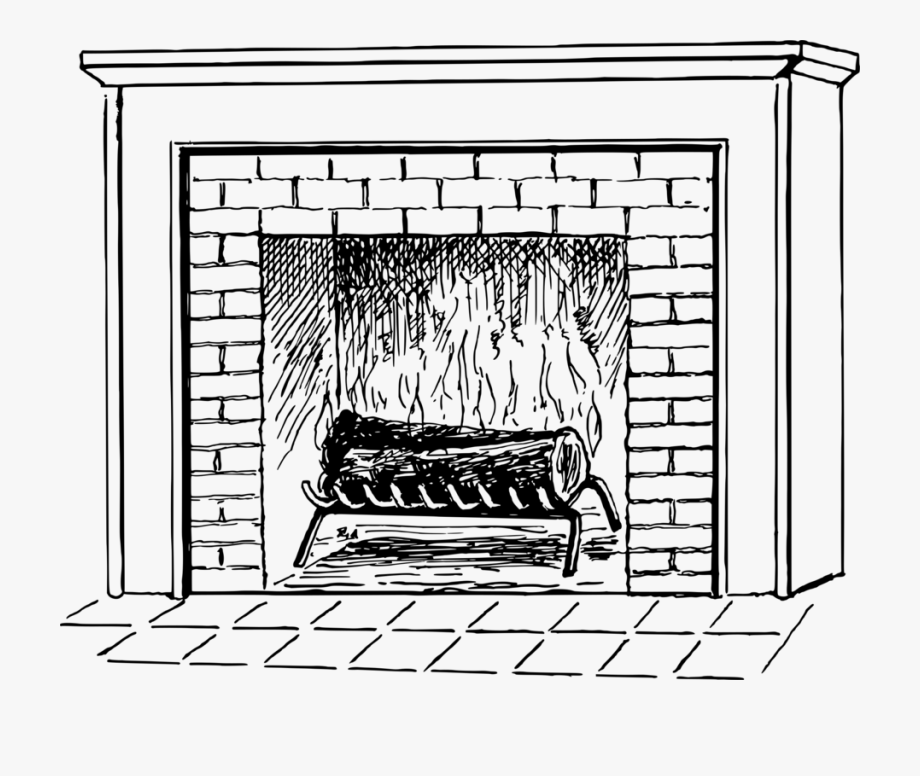 Chimney Clipart Black And White.