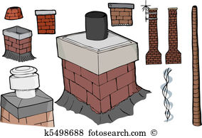 Chimney flues Clip Art EPS Images. 41 chimney flues clipart vector.