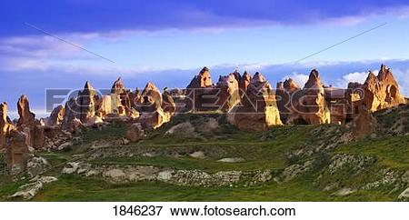 Picture of Fairy Chimney rock formations in Goreme National Park.