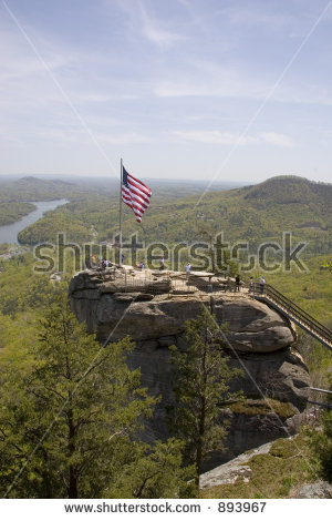 Chimney Rock Park Stock Photos, Royalty.