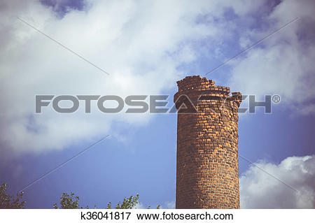 Picture of Industry Chimney Stack k36041817.