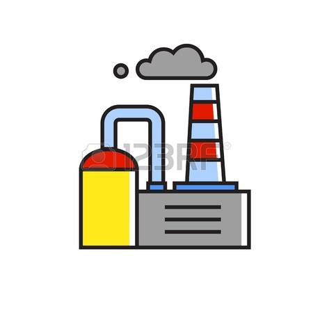 Chimney stack clipart #5