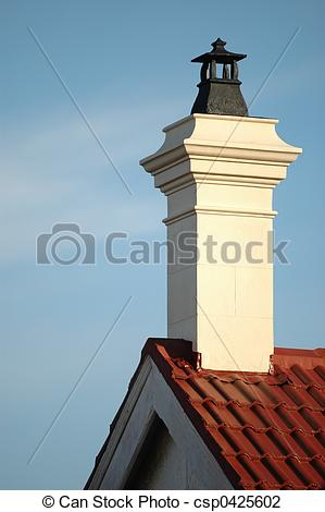 Stock Photo of chimney stack.