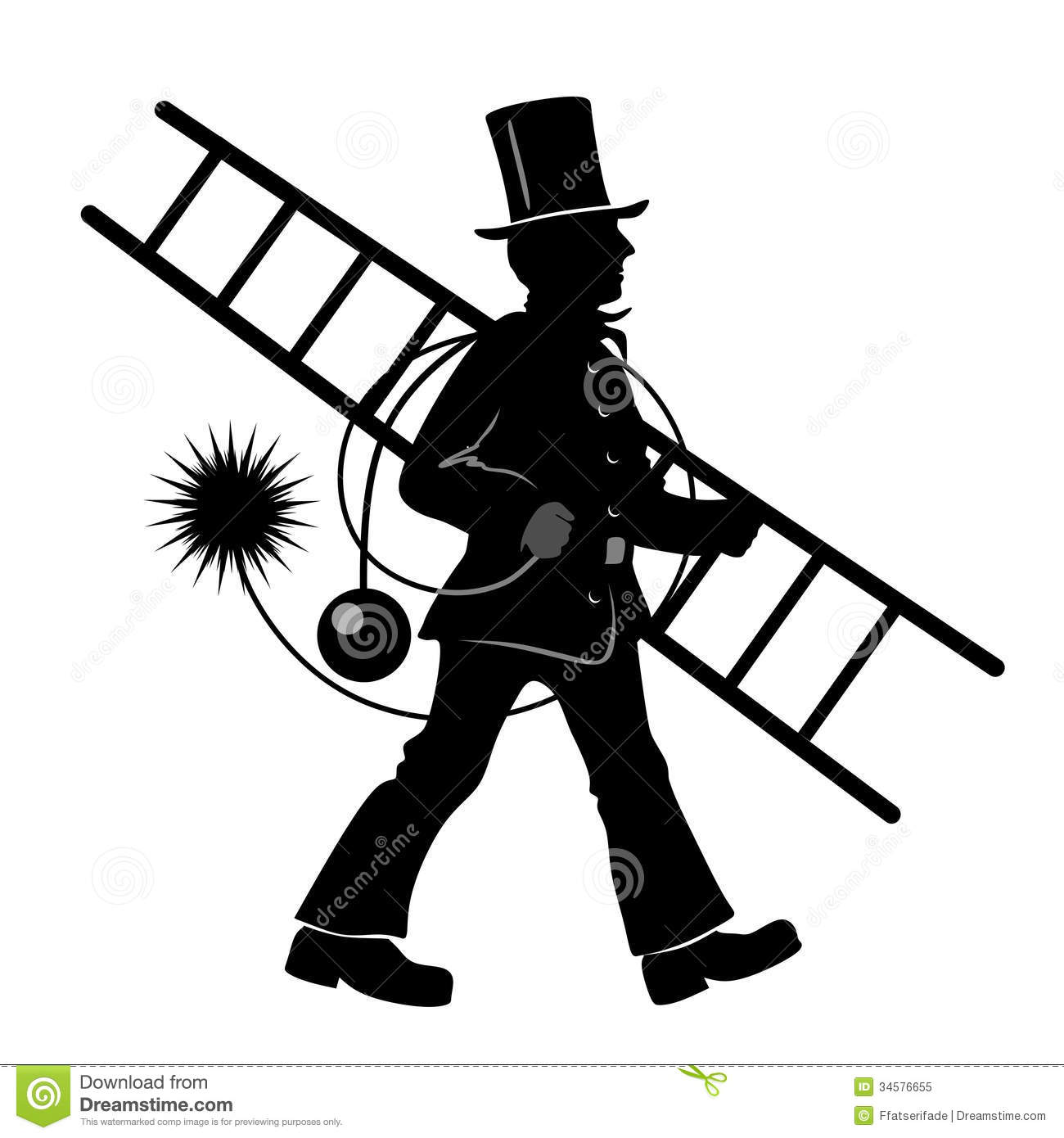 Chimney sweep clipart #12
