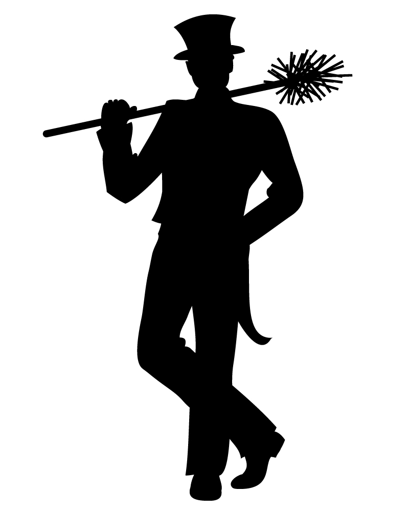 Chimney sweep clipart.