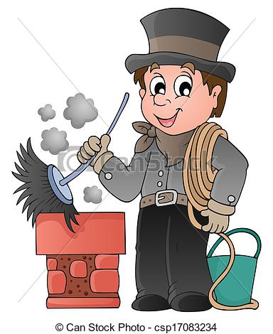 Chimney sweep clipart #20
