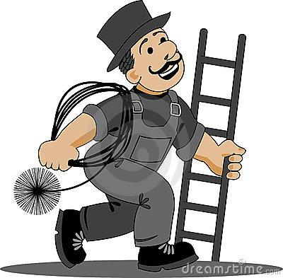 Chimney Sweep Stock Illustrations.