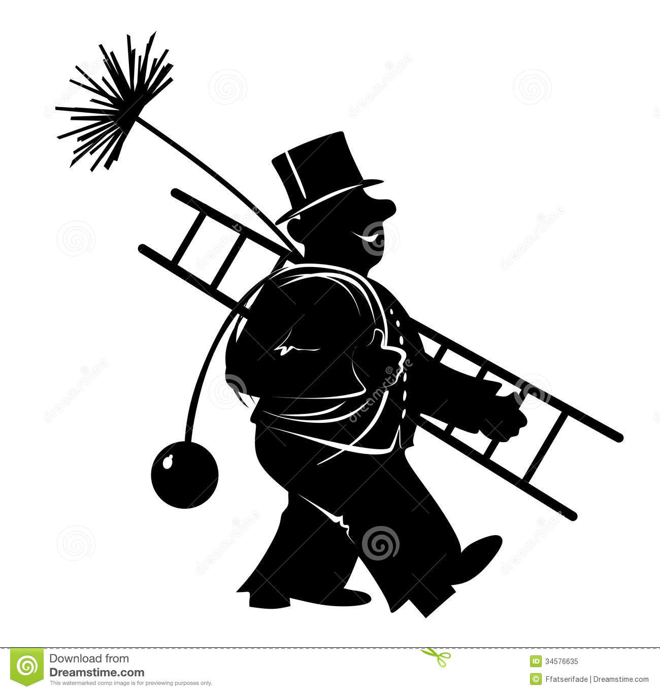 Chimney sweep clipart #17