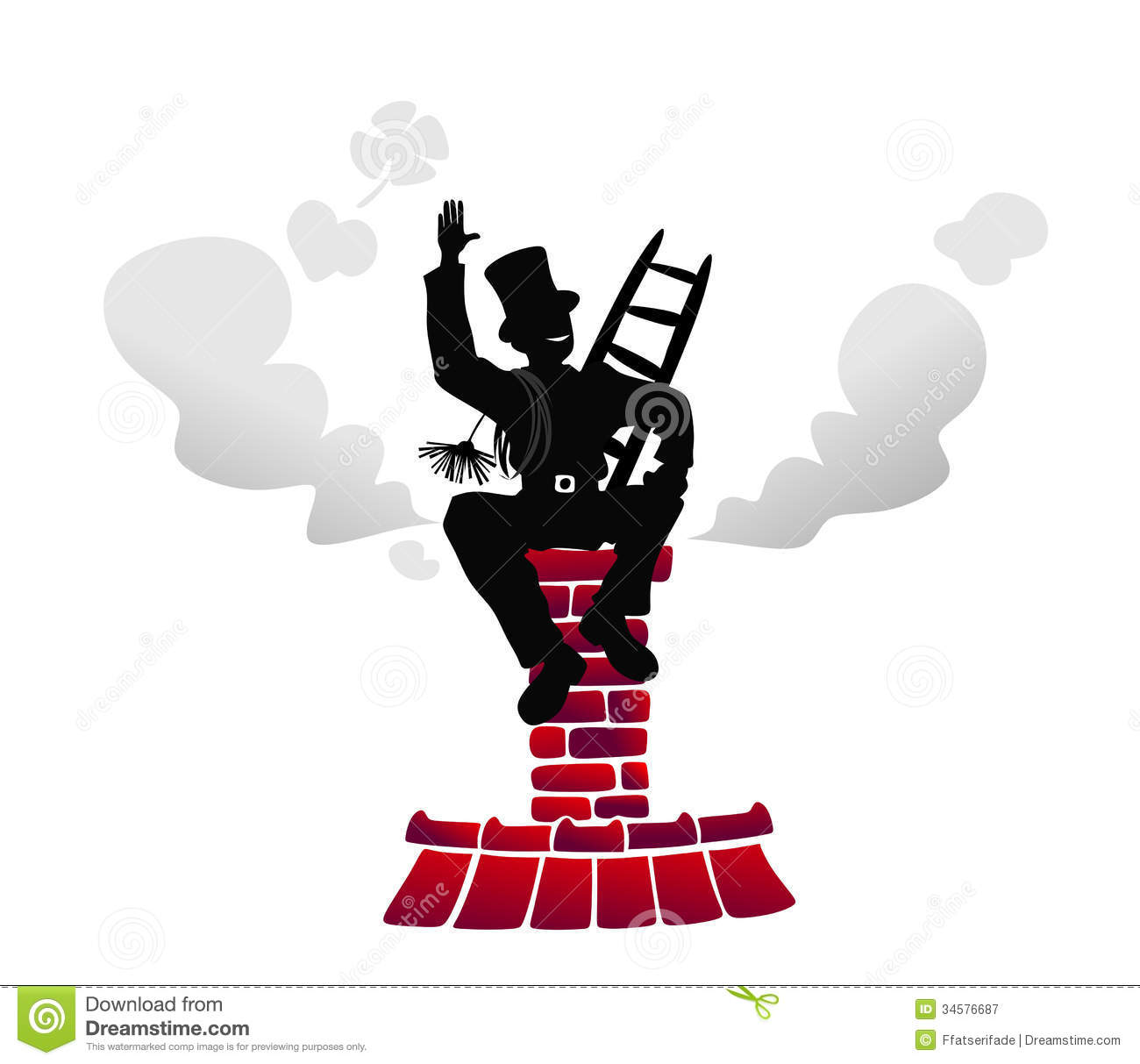 Chimney sweep clipart #11