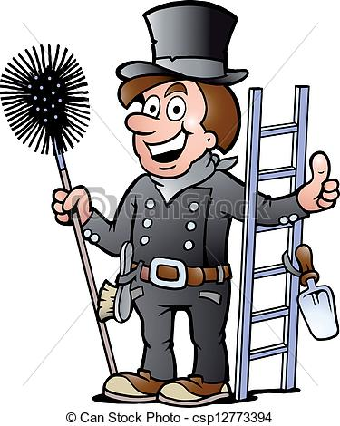 Chimney sweep clipart #14