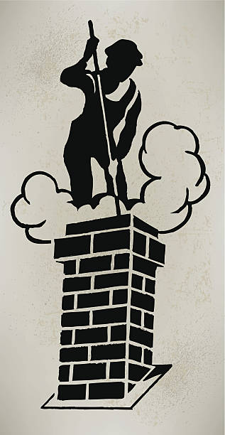 Best Chimney Sweep Illustrations, Royalty.