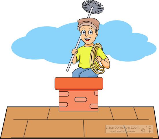Household : chimney.