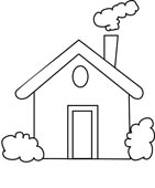 Chimney with house clipart #20