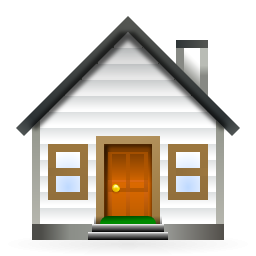 Chimney with house clipart #19