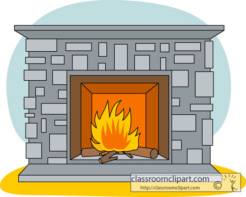 Chimney with house clipart #12