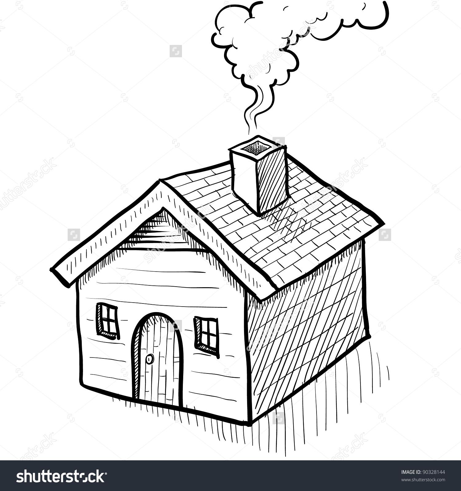 Clipart chimney smoke.