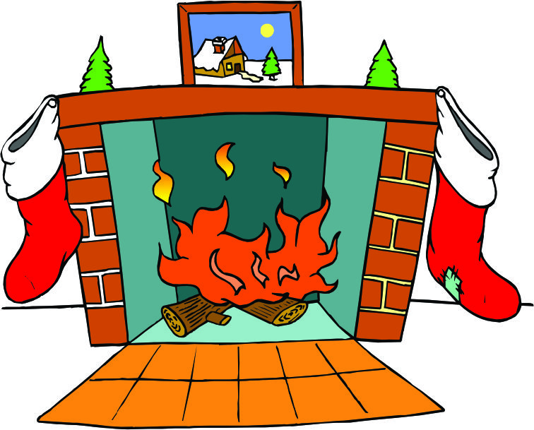 Fireplace Chimney Clipart.