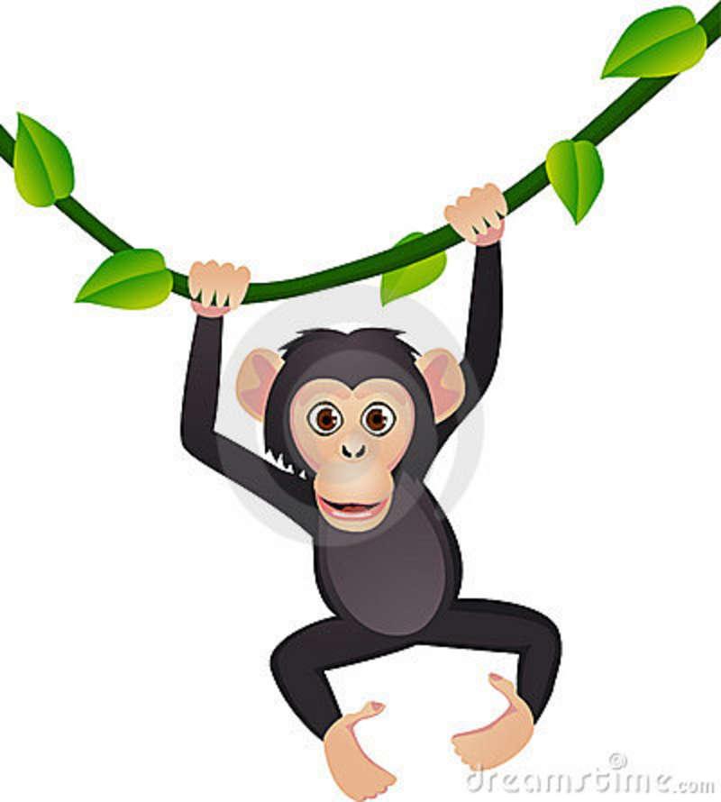 Chimpanzee Clipart.